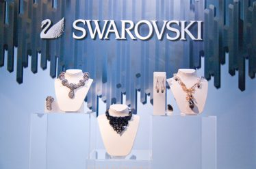 swarovski creation vitrine