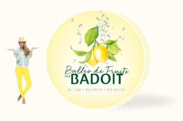 badoit bulles de fruits merchandising creation